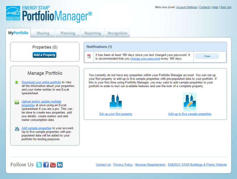 ENERGY STAR® PortfolioManager®